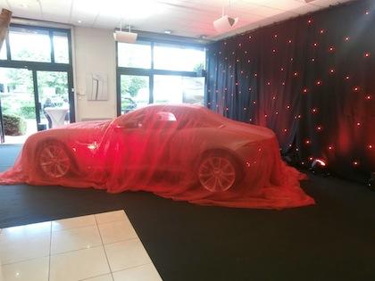 Lancement de la Jaguar F-Type