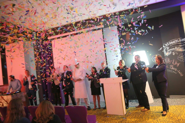 Inauguration colorée des nouveaux espaces de séminaires du Park'inn