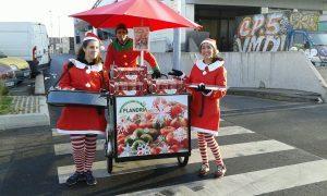Street marketing : Noël à Rungis