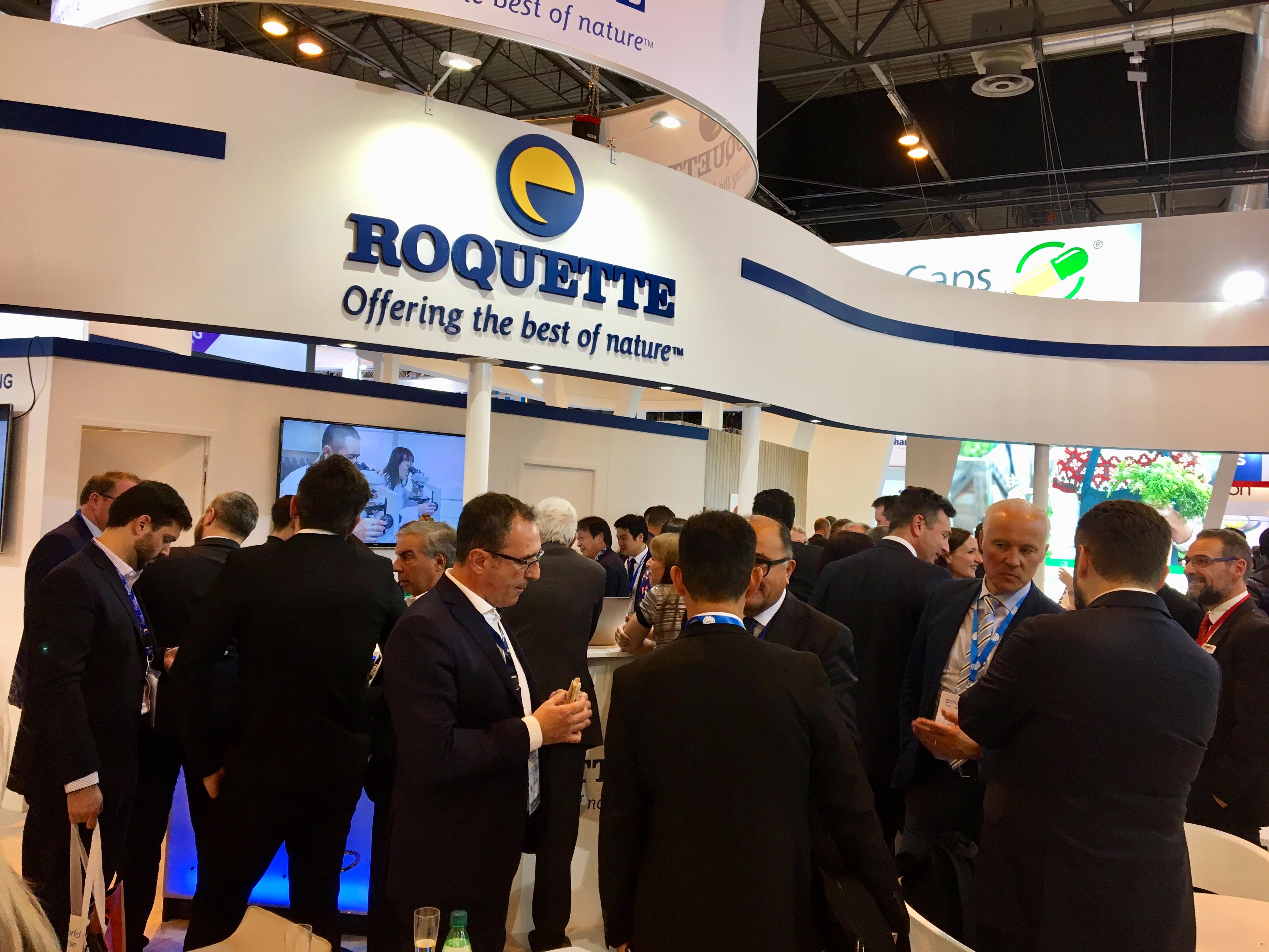 Logistique salon pour Roquette au CPHI Worldwide 2018 à Madrid