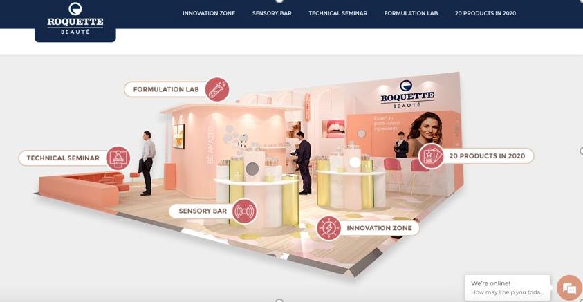 Un salon virtuel en ligne pour Roquette Beauté