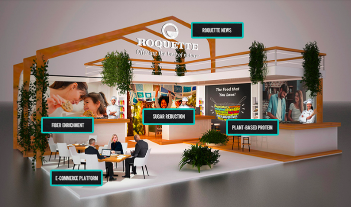 Virtual booth Roquette by La Creative Boutique